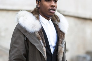 A$AP Rocky Announces Collaborative Mixtape With Rod Stewart Titled 'Born To Be Pretty'