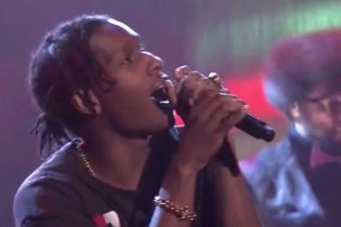 "A$AP Rocky Performs ""L$D"" & ""Jukebox Joints"" on 'The Tonight Show Starring Jimmy Fallon'"