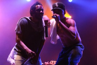 Watch Chance The Rapper Bring out Kendrick Lamar at Teens In The Park Festival