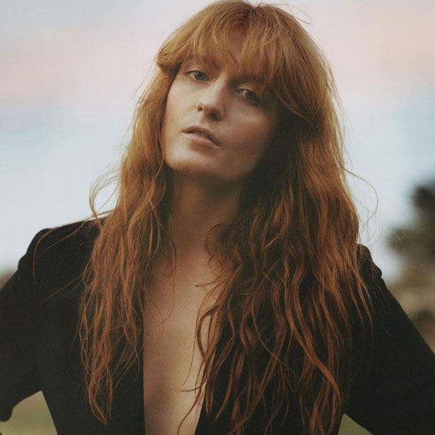 Florence and the Machine Set as New Glastonbury Headliners