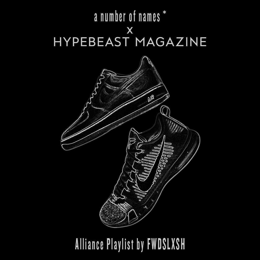 Listen to FWDSLXSH's 'Alliance' Playlist for a number of names* & HYPEBEAST Magazine