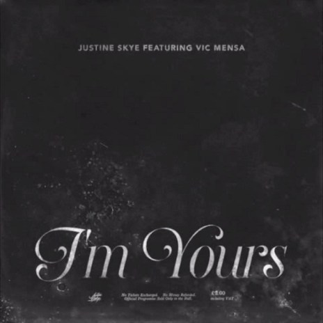 Justine Skye featuring Vic Mensa - I'm Yours