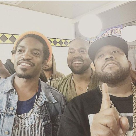 Kanye West Dines With Outkast at Atlanta's Waffle House