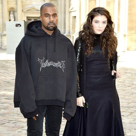 "Lorde Addresses The Kanye West ""Goth Prom"" Moment"