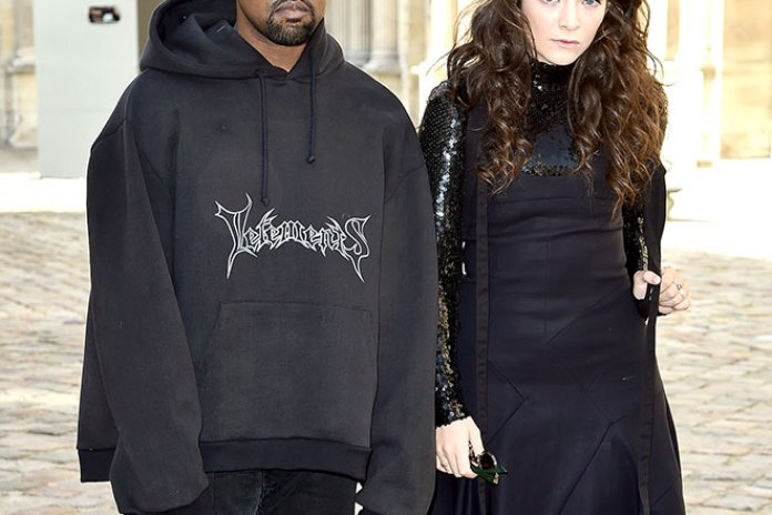"""Lorde Addresses The Kanye West """"Goth Prom"""" Moment"""