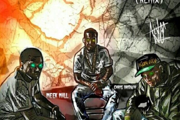"Meek Mill, Chris Brown & French Montana Remix Rico Richie's ""Poppin"""