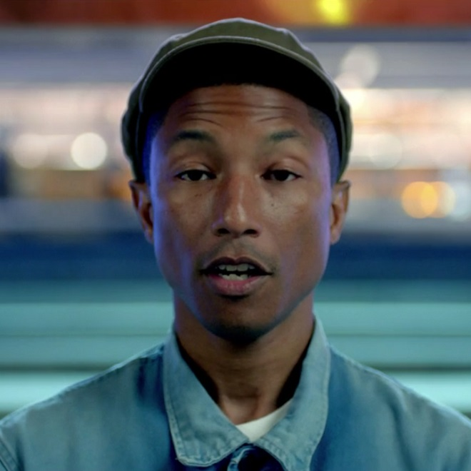 Pharrell Shares Preview of New Video & Single in Apple Music Ad