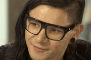 Skrillex and Katie Couric Make a Song Together During Interview
