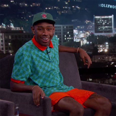 Tyler, The Creator Talks Being Fired at Starbucks, His Golf App and Myspace on 'Jimmy Kimmel Live!'