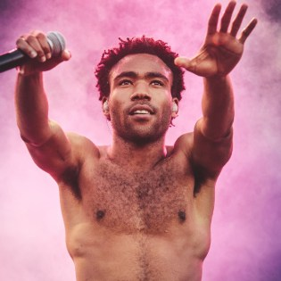Watch Childish Gambino Perform a New Song at Bonnaroo 2015
