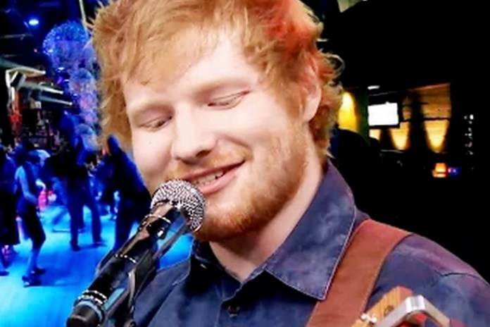 Watch Ed Sheeran Cover Iron Maiden, Limp Bizkit and Ty Dolla $ign on 'Jimmy Fallon'