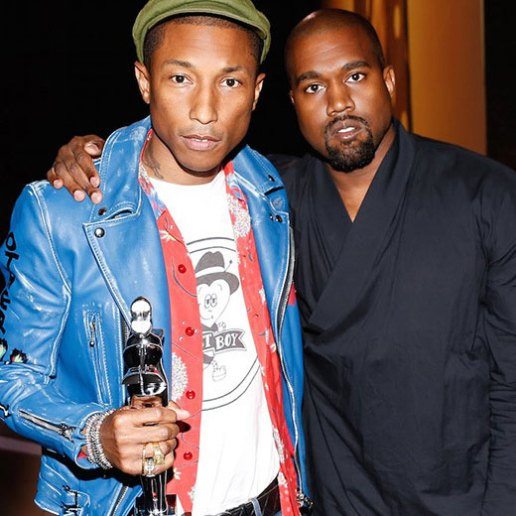 Watch Pharrell Williams Accept His CFDA Fashion Icon Award From Kanye West
