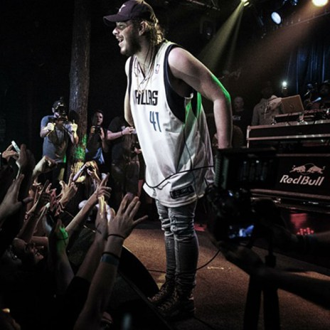 "Watch Post Malone's First Hometown Performance of ""White Iverson"""