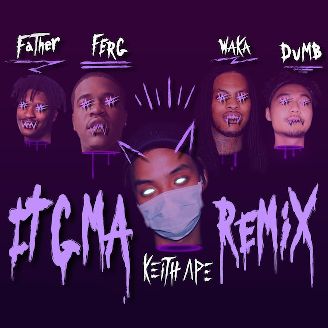 """Watch Keith Ape's """"It G Ma"""" Remix featuring A$AP Ferg, Father, Waka Flocka Flame and Dumbfoundead"""