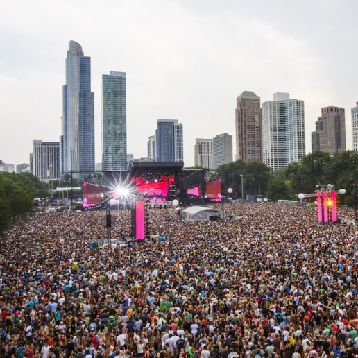 Lollapalooza to Live Stream Festival This Weekend