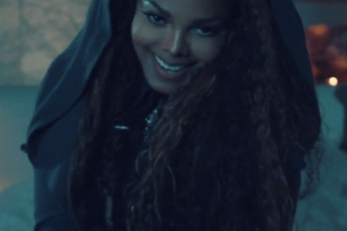 "Watch Janet Jackson and J. Cole's New Video For ""No Sleeep"""