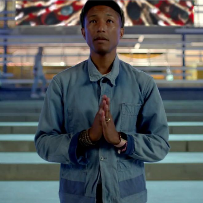 "Watch the New Video for Pharrell's ""Freedom"""
