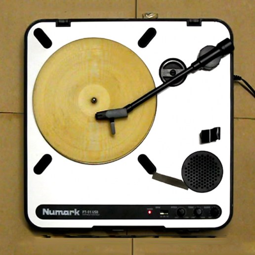 A Tortilla Gets Turned Into a Playable Record