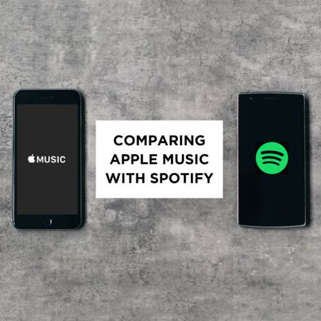 Comparing Apple Music with Spotify