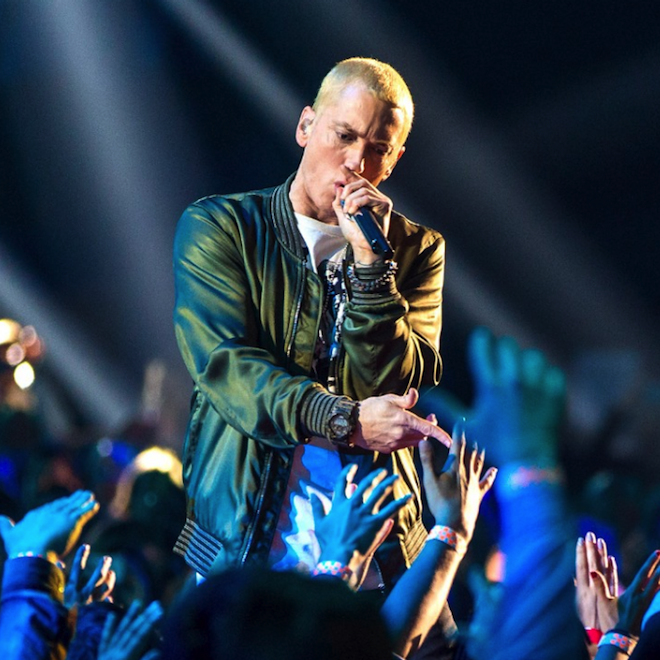 Eminem Snaps In Eight-Minute Freestyle For 'Sway In The Morning'