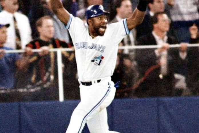 "Joe Carter Reacts to Being on Drake's ""Back to Back"" Cover Art"