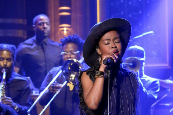 """Ms. Lauryn Hill Covers Nina Simone's """"Feeling Good"""" on 'The Tonight Show'"""