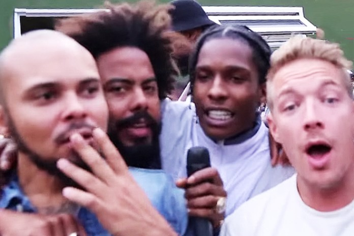 Major Lazer Crashes A$AP Rocky's Interview With Tim Westwood