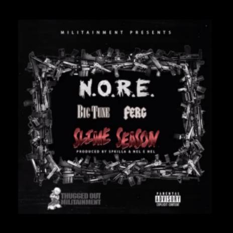 N.O.R.E. featuring A$AP Ferg - Slime Season