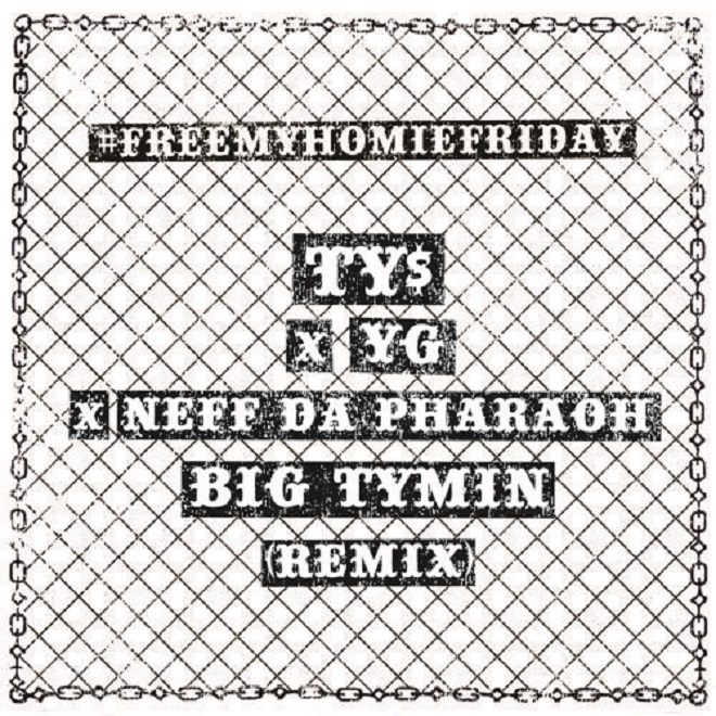 Nef The Pharaoh featuring Ty Dolla $ign & YG - Big Tymin (Remix)