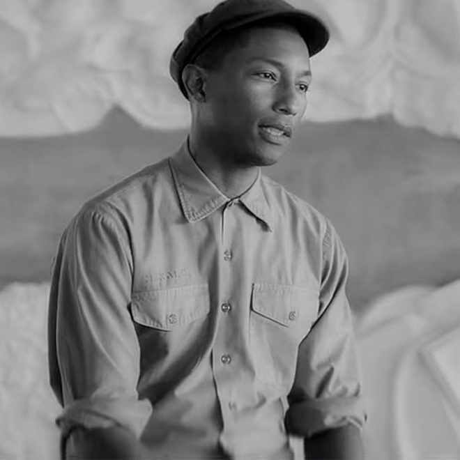 Pharrell Talks adidas Originals Supershell Sneakers & Todd James Collaboration