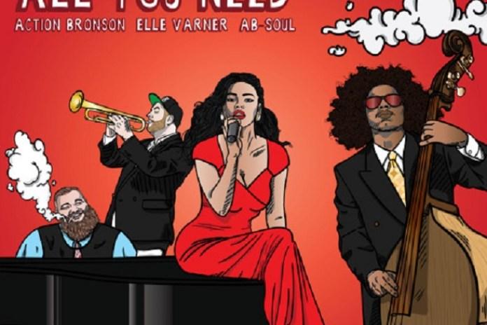 Statik Selektah featuring Action Bronson, Ab-Soul & Elle Varner - All You Need