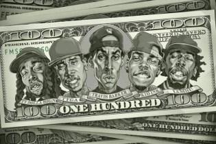 Travis Barker featuring Kid Ink, Tyga, Iamsu! & Ty Dolla $ign - 100