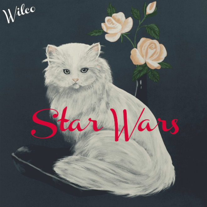 wilco dropped a surprise album called star wars