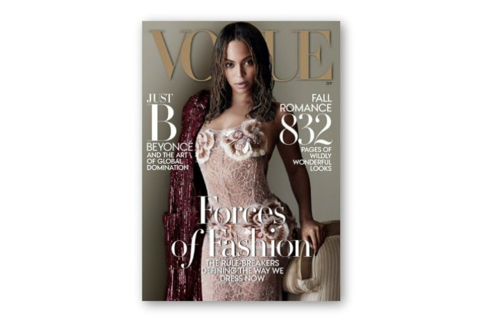 Beyoncé Makes History With Cover of Vogue's September Issue
