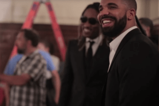 "Watch Behind The Scenes Footage of Future and Drake's ""Where Ya At"" Video"