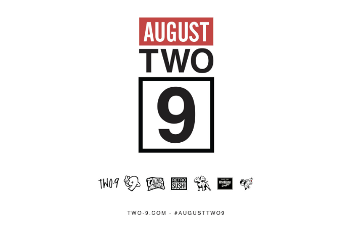 Stream Two-9's Newest EP '#AugustTwo9'