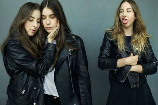 HAIM Get Their Own Beats 1 Show, Chop It Up with Pharrell