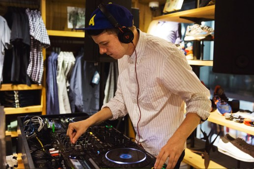 HYPETRAK x J.Crew In-Store Party With submerse
