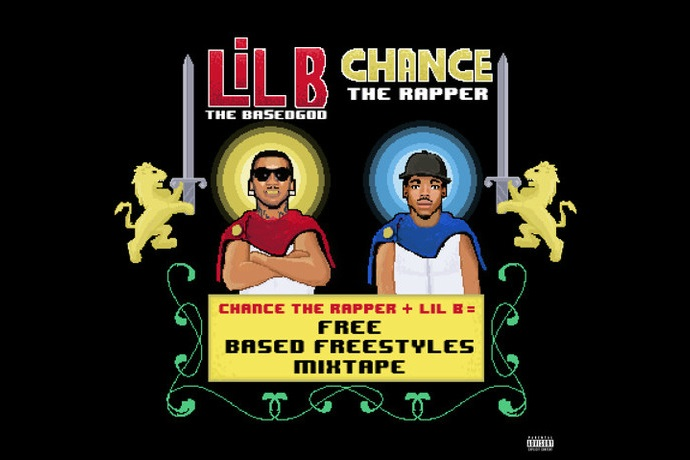 """Lil B & Chance The Rapper Release """"Based Freestyle"""" Mixtape 'Free'"""