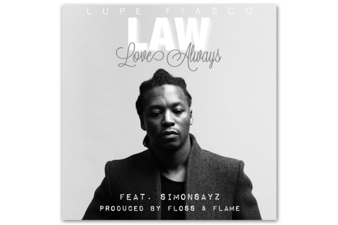 Lupe Fiasco featuring SimonSayz - LAW (LoveAllWays)