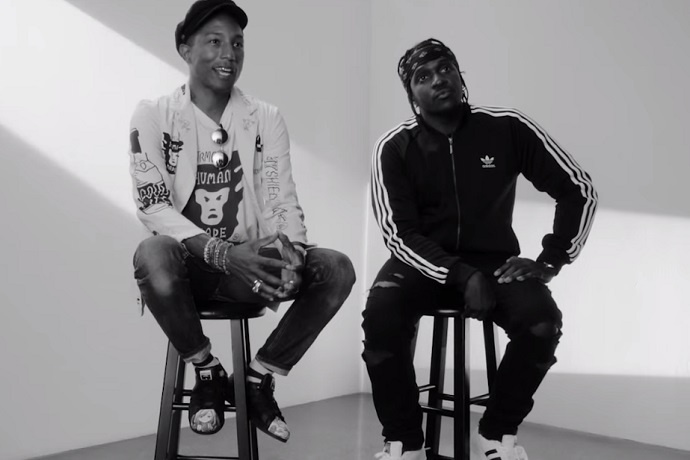 "Pharrell & Pusha T Featured on adidas Originals' ""Supershell Experience"""