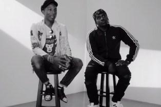"Pharrell & Pusha T Featured on adidas Originals' ""Supershell Experience"""
