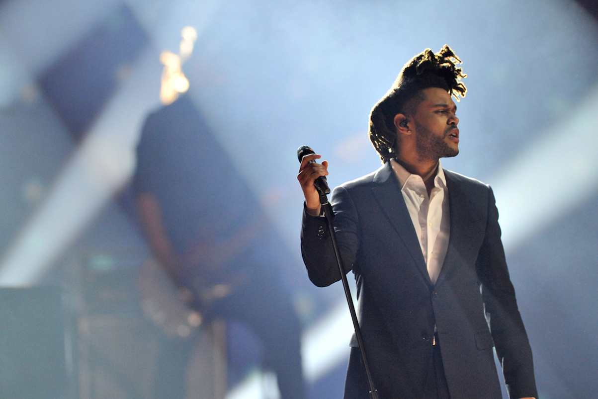 """The Weeknd Lands First No. 1 Record With """"Can't Feel My Face"""""""