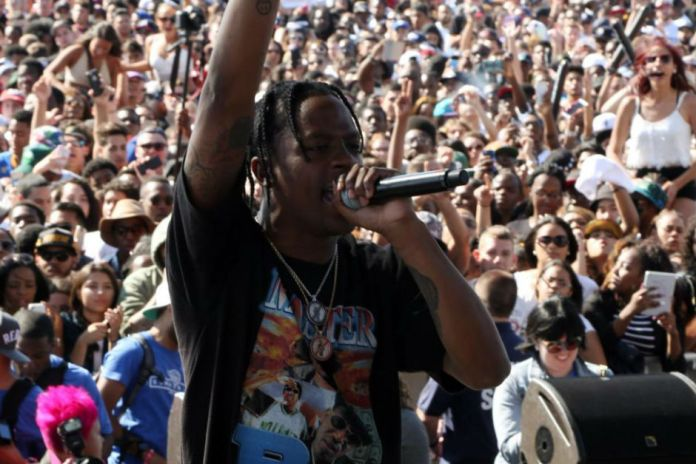 Travi$ Scott Arrested at Lollapalooza