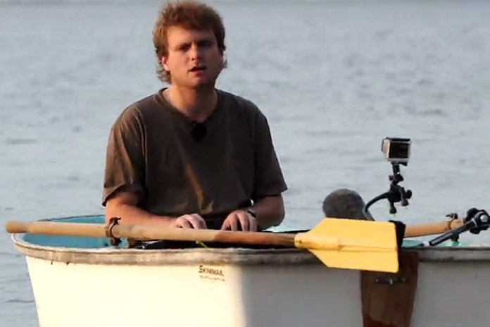 """Watch Mac DeMarco Perform """"No Other Heart"""" in a Rowboat"""