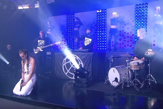 "Watch Major Lazer, DJ Snake & MØ Perform ""Lean On"" on 'Good Morning America'"