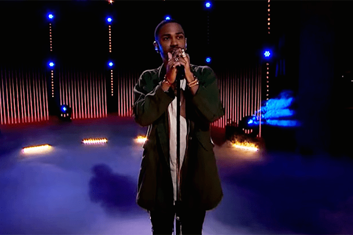 """Big Sean Performs """"One Man Can Change The World"""" on James Corden"""