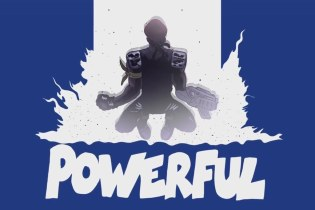 Major Lazer featuring Ellie Goulding & Tarrus Riley  - Powerful (With You. x Gitchii Remix)