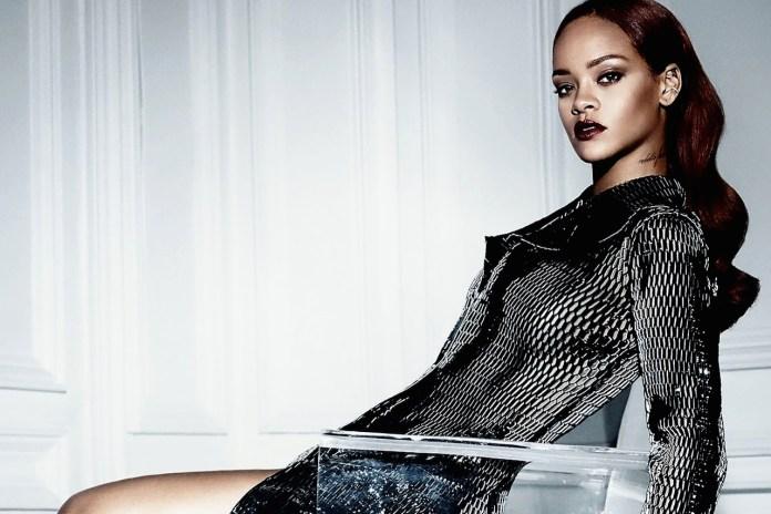Rihanna Instagrams Her Dior Photoshoot