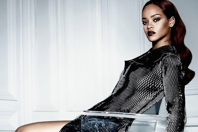 Rihanna Instagrams Her Dior Photoshoot